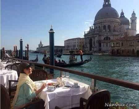 الناز شاکردوست در ایتالیا