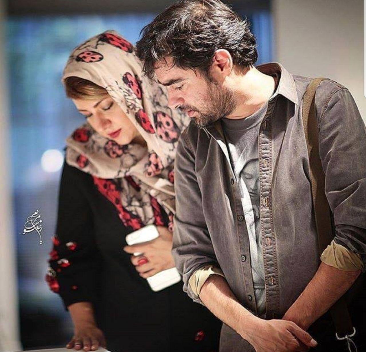 شهاب حسینی در کنار همسرش پریچهر قنبری /عکس   24 آنلاین