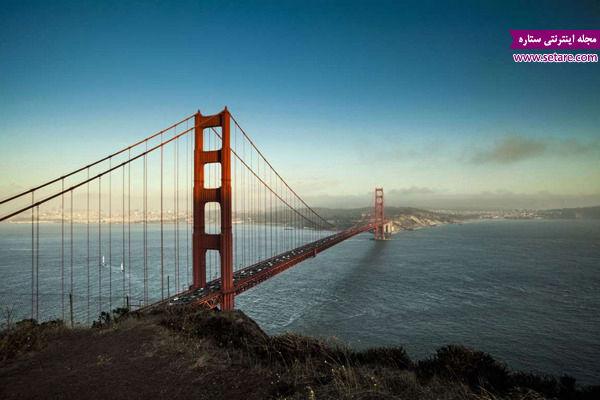 پل گلدن گیت، سان فرانسیسکو، آمریکا، عجایب هفتگانه، دنیای مدرن، مارین