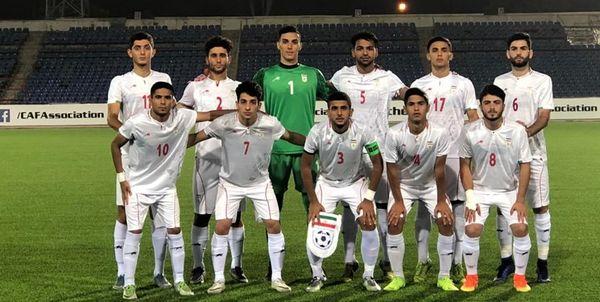 ترکیب تیم جوانان در آستانه دیدار با نپال اعلام شد