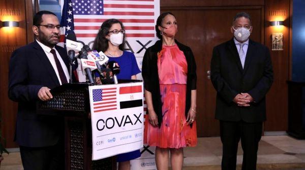 آمریکا واکسن فایزر به مصر اهدا کرد