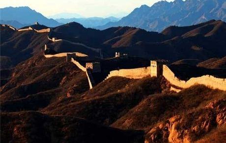 تصویری جالب از جایی که دیوار بزرگ چین به پایان می رسد + عکس