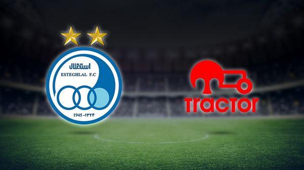استقلال و تراکتور از لیگ قهرمانان آسیا حذف نمیشوند