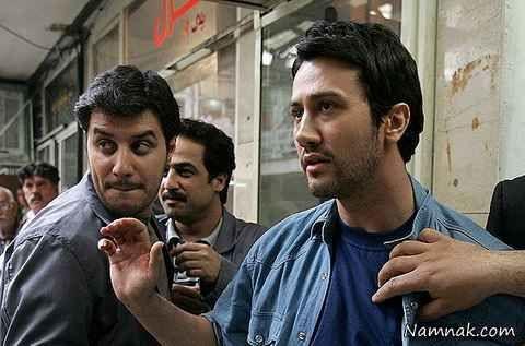 شاهرخ استخری و جواد عزتی در سریال مثل هیچکس