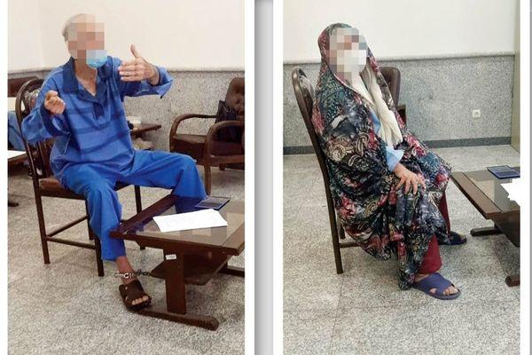 اعتراف پدر بابک خرمدین به قتل دختر و دامادش + عکس