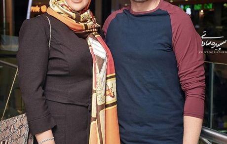 همسر کوروش تهامی در اکران کروکودیل + عکس