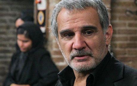 چهره متفاوت و غمگین مهدی هاشمی + عکس