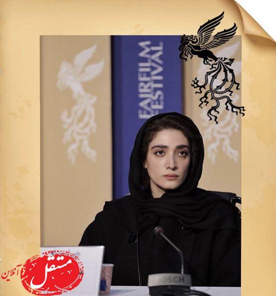 حضور مینا ساداتی در جشنواره فجر + عکس