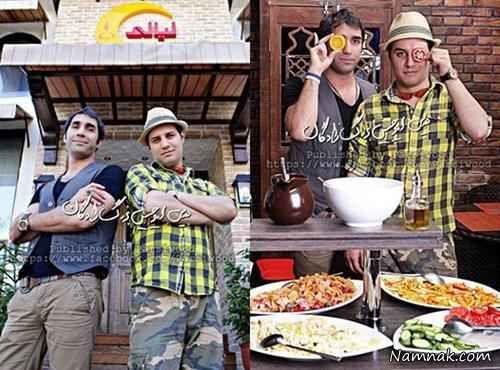هادی کاظمی و جواد عزتی