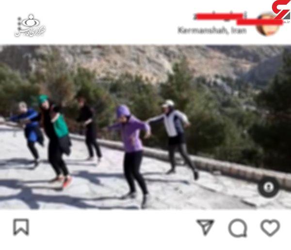 رقص عجیب زنان در پارک های کرمانشاه/ رقص زومبا ممنوع است ! + عکس