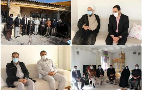دیدار با خانواده بزرگوار شهید ایرانمنش در آستانه هفته مقاومت
