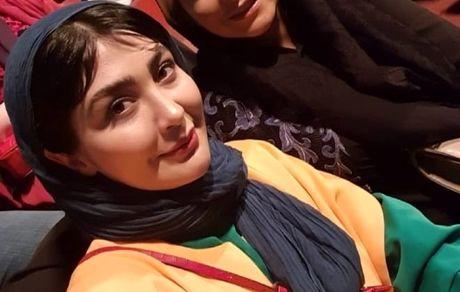 فریبا نادری و مریم معصومی در یک مراسم + عکس