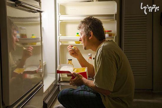 مواد غذایی که نباید قبل از خواب بخورید + عکس