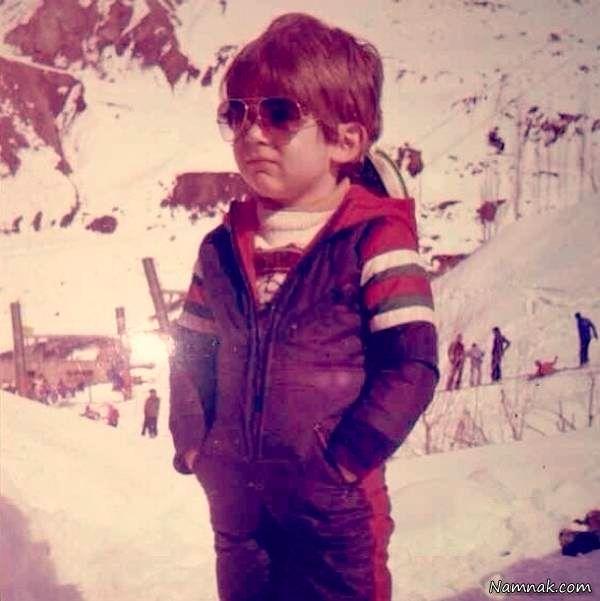کودکی محمدرضا گلزار