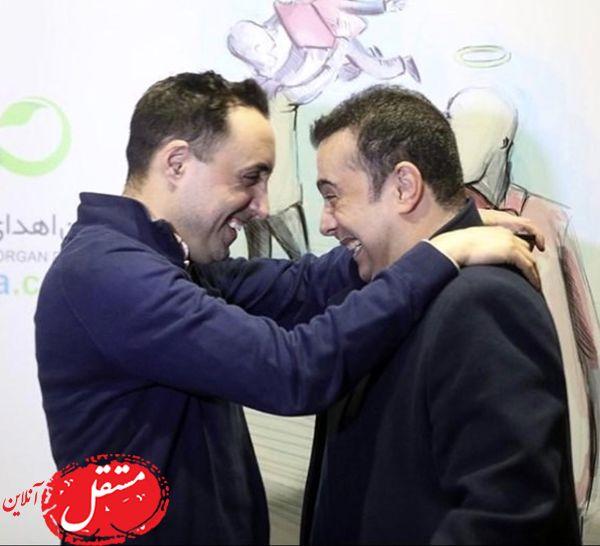 صمیمیت سپند امیرسلیمانی با امیرحسین صدیق + عکس