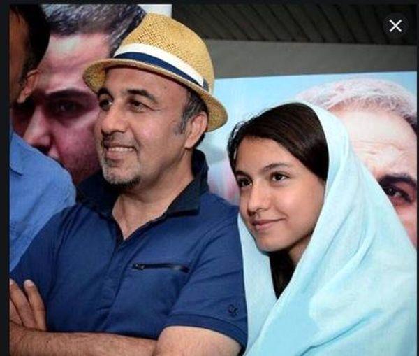عکس دیده نشده از رضا عطاران و همسرش + عکس