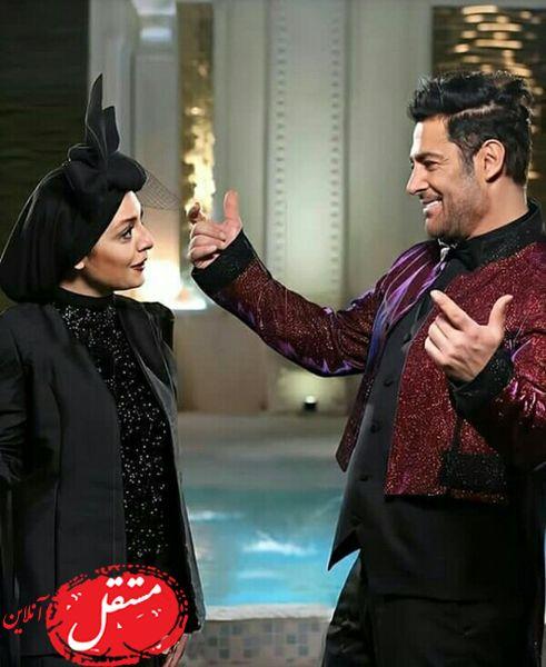 نگاه عاشقانه محمدرضا گلزار و ساره بیات + عکس