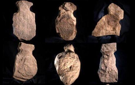 کشف مجسمههای کوچک باستانی انساننما