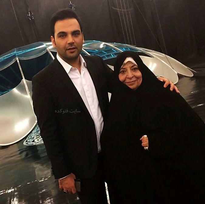 مجری معروف ماه عسل و مادرش