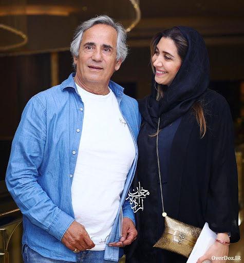 سینما پیک - مطالب ابر عکس مجید مظفری و دخترش