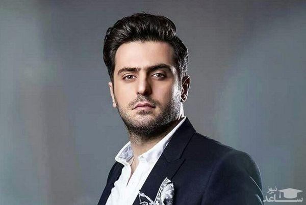 علی ضیا با ته ریش بلند + عکس