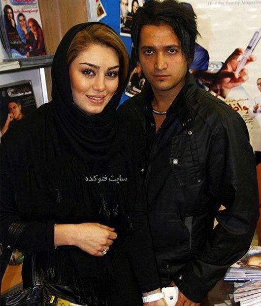 عکس سحر قریشی و همسرش مهران اخوان ذاکر + بیوگرافی