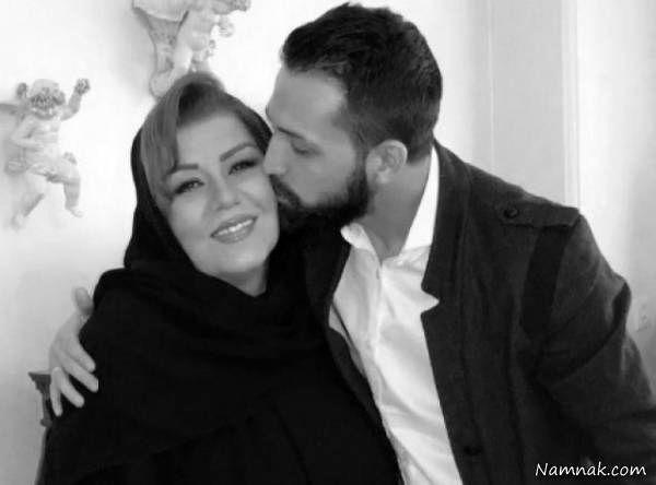 محسن افشانی و مادرش
