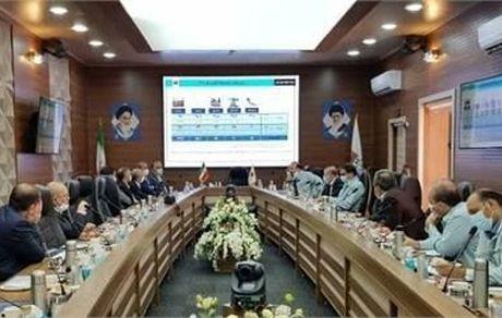 نشست مدیرعامل و رییس هیات مدیره شرکت فولاد خوزستان با سرمایه گذاران حوزه ی فولاد و برق شهرستان رامهرمز