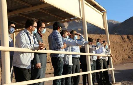 پیشرفت 58 درصدی طرح احداث کارخانه فرآوری سرب و روی مهدی آباد