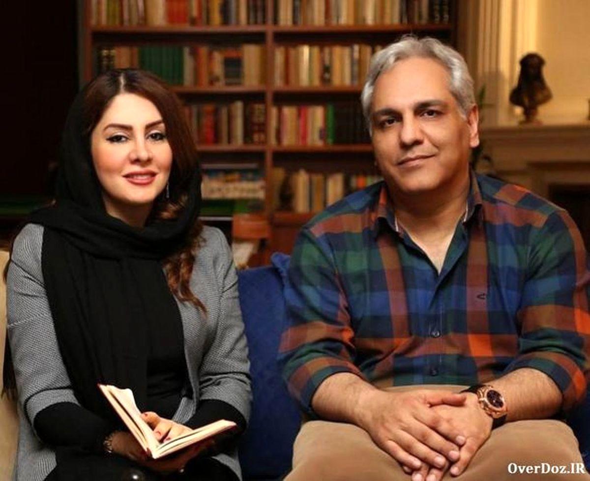مهران مدیری از همسر ش رونمایی کرد + عکس و فیلم