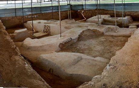کشف بقایایی جدید از دوران هخامنشی در ایران