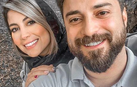 پریا پرتوی فرد همسر دوم بابک جهانبخش کیست؟ + تصاویر دو نفره