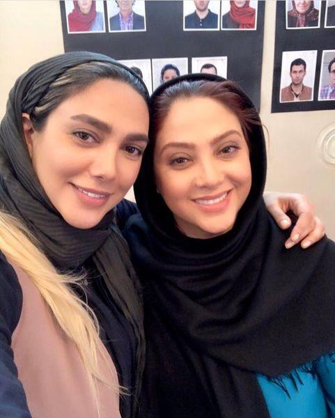 مریم سلطانی و گریمورش + عکس