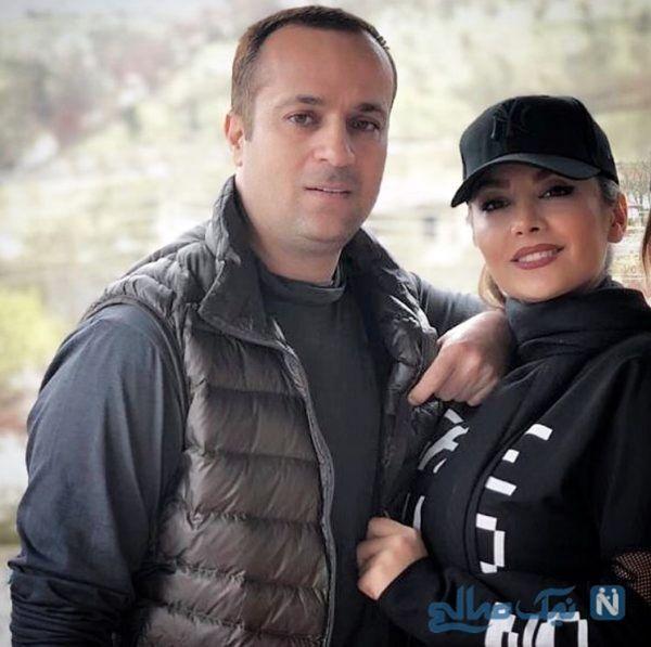 عاشقانه های احمد مهرانفر و همسرش + عکس و بیوگرافی