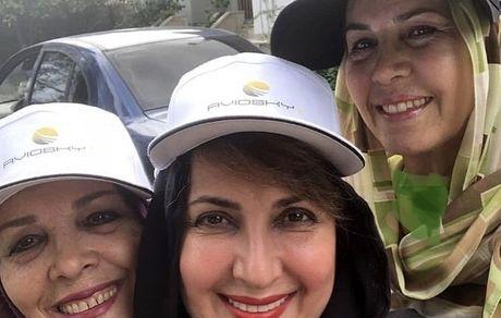 فاطمه گودرزی و خواهرانش + عکس
