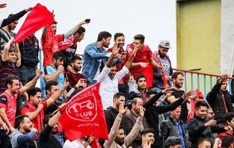 حاشیه دیدار تراکتور و شاهین| استقبال کم هواداران تبریزی