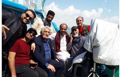کشتی سواری مهدی سلوکی و پدربزرگش + عکس