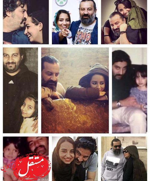 خاطرات آقا مهراب و دخترش + عکس