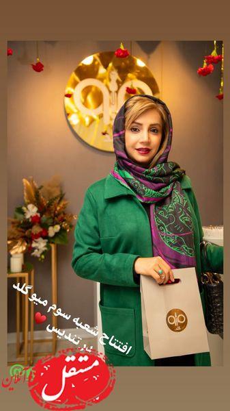 شبنم قلی خانی در افتتاحیه گالری مشهور + عکس