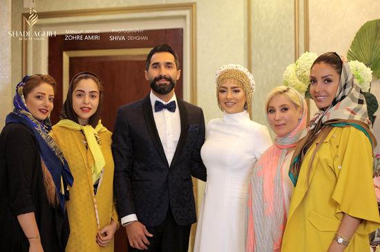 تصاویر عروسی «هادی کاظمی» و «سمانه پاکدل» - اتحاد خبر