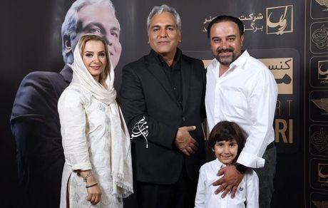 مهران مدیری و خانواده ارجمند +عکس