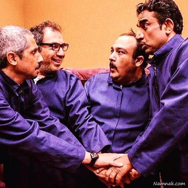 مهران غفوریان و سیامک انصاری