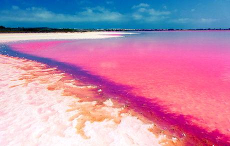 10 ساحل صورتی در جهان