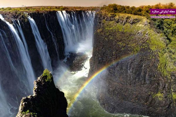 آبشار ویکتوریا، زامبیا، زیمباوه، بلندترین آبشار جهان، نیاگارا