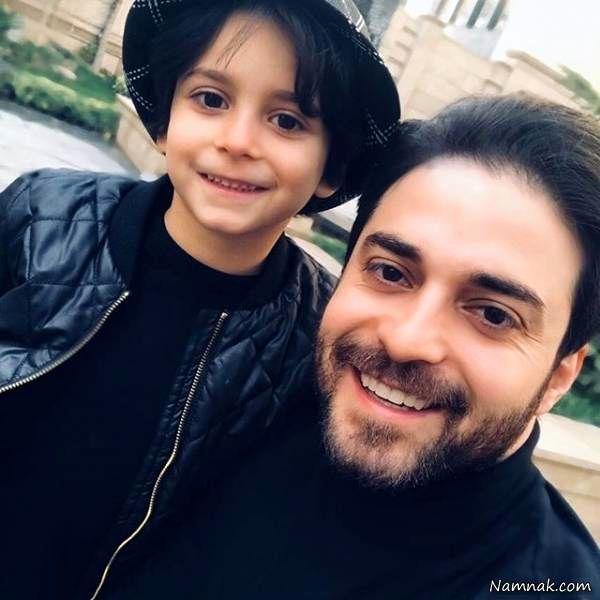 تعطیلات لاکچری بابک جهانبخش و همسر جوانش در کیش + عکس