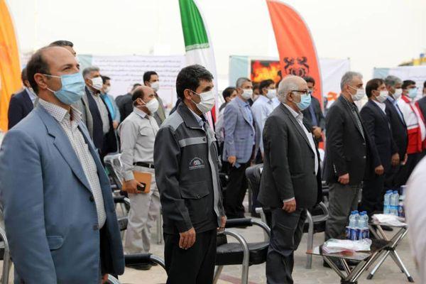 حضور پررنگ شرکت معدنی و صنعتی گلگهر در نخستین نمایشگاه مدیریت بحران استان کرمان