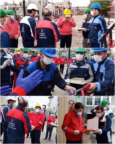 افتتاح مخزن اورهالشده توسط یکی از کارگران