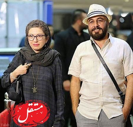 رضا عطاران و همسرش + عکس