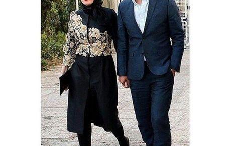زوج هنری دست در دست هم قبل از جداییشون + عکس