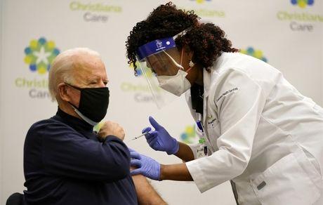 آمریکا کرونا را شکست داد/بایدن هم واکسن زد